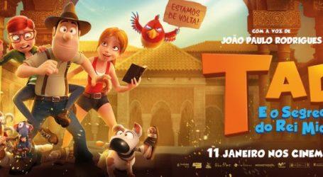 CINEMA NO TBR: TAD E O SEGREDO DO REI MIDAS (VP)