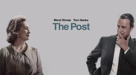 CINEMA NO TBR: THE POST