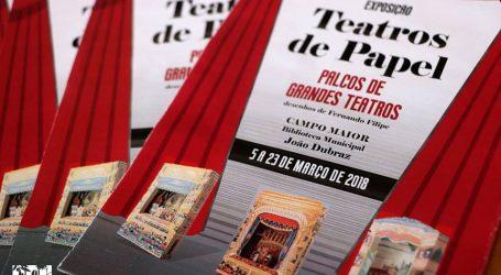 Campo Maior: Teatros de Papel em exposição na Biblioteca Municipal João Dubraz.