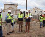 Moura: Executivo da Câmara Municipal visitou obra do futuro Terminal Rodoviário
