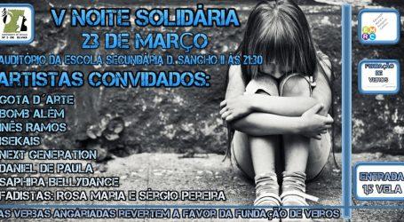 V Noite Solidária no Auditório da Escola Secundária de Elvas