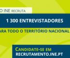 INE recruta entrevistadores para Recenseamento Agrícola