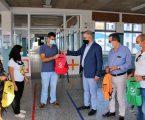 Câmara Municipal Alcácer do Sal ofereceu cadernos de atividades e mochilas a alunos do 1º ciclo do Concelho