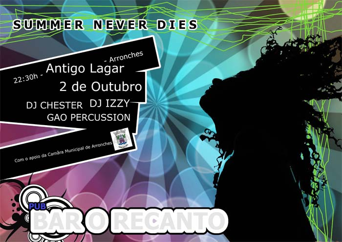 Arronches: Festa SUMMER NEVER DIES