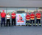 Intermarché de Vila Viçosa oferece paletes de águas às corporações de bombeiros de Borba, Vila Viçosa e Alandroal