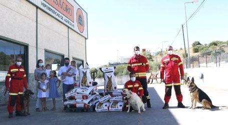 CASAGRO entrega cerca de 500 kg de ração aos Bombeiros de Elvas
