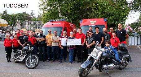 Moto Clube de Elvas entrega cheque aos Bombeiros