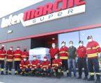 Intermarché de Vila Viçosa oferece paletes de águas a 3 corporações de bombeiros