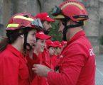 Bombeiros Voluntários de Elvas presentes no São Mateus 2018