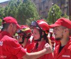 Elvas – Cerimónia de Promoção de novos Bombeiros