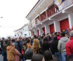 Manifestação de apoio aos Bombeiros juntou cerca de trezentas pessoas em Borba