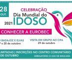 Dia Mundial do Idoso 2021 Município de Campo Maior vai promover uma série de passeios e visitas a locais emblemáticos da Eurocidade EuroBEC, para maiores de 65 anos.