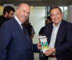A Administração do Grupo Nabeiro  receberam no Centro de Ciência do Café uma delegação de representantes do Perú e do Equador