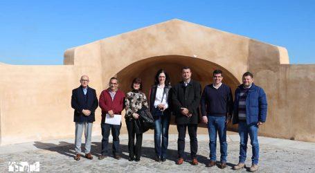 Presidente do Município e os Vereadores acompanharam  Ana Paula Amendoeira algumas das obras em curso