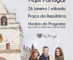 """""""Aqui Portugal"""", da RTP, em direto de Elvas"""