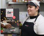 """Colaboradora do Intermarché de Estremoz, uma das vencedoras do passatempo """"Receitas de Natal Por Si"""""""