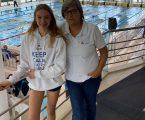 Ana Sofia Caldes do Clube Elvense de Natação esteve presente no Torneio Zonal Sul de juvenis de Natação em Sines
