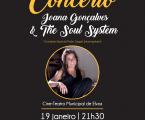 Joana Gonçalves & The Soul System no Cine-Teatro Municipal