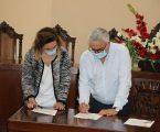 Elvas: A assinatura do auto de consignação da empreitada de pavimentação de estradas no concelho