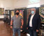 """Nuno Ezequiel inaugurou na tarde deste domingo, dia 30, a exposição intitulada """"25 anos"""", na Casa da Cultura de Elvas."""