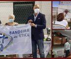 CLUBE DE FUTEBOL DE ESTREMOZ RECEBEU BANDEIRA DA ÉTICA