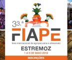 A 33.ª edição da Feira Internacional de Agropecuária de Estremoz (FIAPE)