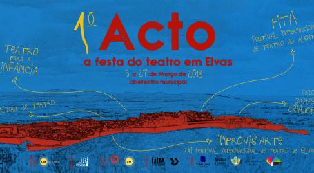 1º Acto – a festa do Teatro em Elvas