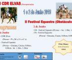 Centro Hípico São Brás: II Festival Equestre, III CDR Elvas