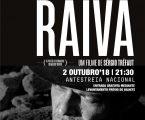 Teatro Municipal de Beja recebe antestreia de RAIVA, um filme de Sérgio Tréfaut