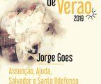 """Jorge Goes encerra  """"Noites de Verão"""""""