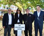 A Rua Carlos do Carmo, um arruamento situado na zona do Morgadinho, foi inaugurada pelaCâmara Municipal de Elvas,