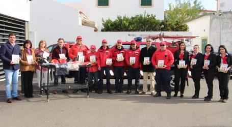 Intermarché de Campo Maior entregou equipamentos de combate a incêndios aos Bombeiros