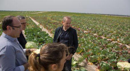 Presidente da Câmara Municipal de Alcácer do Sal visita novo grande investimento agroalimentar