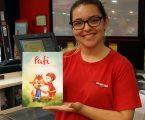 """Intermarché de Redondo promove o livro do """"Pafi"""" para ajudar Bombeiros"""