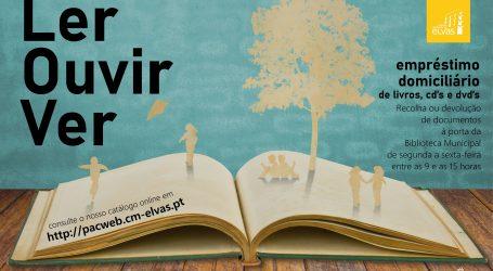 "Elvas: Biblioteca promove ""Tempo para Ler, Ouvir, Ver"""