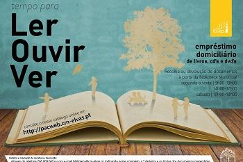 """Elvas: """"Tempo para Ler, Ouvir, Ver"""" prossegue na Biblioteca"""
