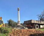 Elvas: Serviços municipais efetuam manutenção no Padrão