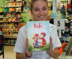 """Livro infantil """"Pafi  ajuda bombeiros Portugueses"""