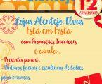 Elvas: Lojas Alentejo comemora 12º aniversário
