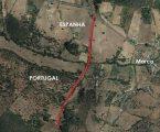 Trânsito cortado na estrada que liga a freguesia de Esperança à localidade espanhola de La Codosera
