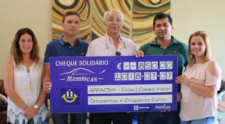 Mirandacar ajuda APPACDM de Elvas nas atividades de Verão