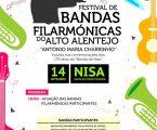 """Nisa: Festival de Bandas Filarmónicas do Alto Alentejo """"António Maria Charrinho"""""""