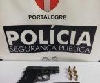 PSP: Homem mostra arma de fogo por disputa de estacionamento