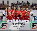 Benfica conquista Supertaça de Futsal Feminino em Ponte de Sor