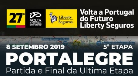 27ª Volta a Portugal do Futuro, em Portalegre