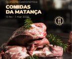"""CMP:Organiza quinzena gastronómica """"Comidas da Matança"""""""