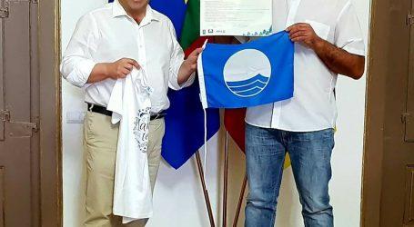 Bandeira azul para embarcações de recreio atribuída a operador na praia fluvial de Monsaraz