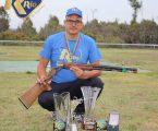 Luís Pintão do Clube de Tiro de Portalegre sagrou-se campeão nacional de TRAP 5