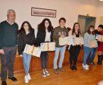 Câmara Municipal de Redondo premeia mérito escolar no concelho