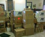 Campanha do Município de Reguengos de Monsaraz vai entregar 115 caixas de roupa para ajudar a população de Moçambique